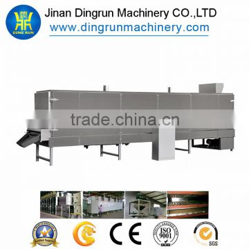 Industrial Stainless Snack food dryer/ mesh belt dryer/hot air circulation electric oven