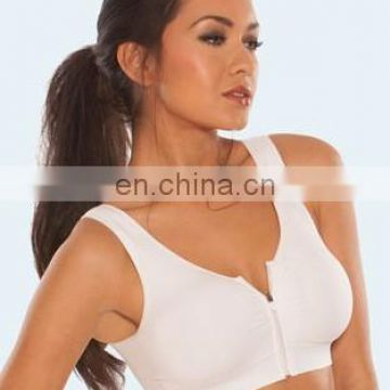 Genie zip seamless bra with removeable pads