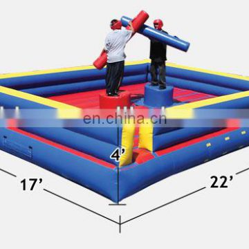 outdoor inflatable fighting arena,inflatable jousting arena NS006