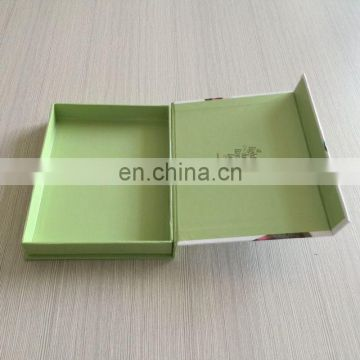 Lovely matte surface fashion magnet closure solid bulk buy gift box square