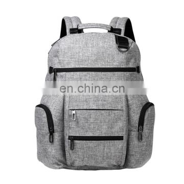 factory direct bag china manufacturer Mustard grey color handsome backpack