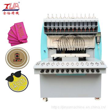 Multicolor automatic soft enamel dispenser machine