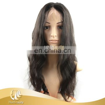 High Quality 100% Virgin Human Brazilian Hair Full Lace Wig & Front Lace Wig