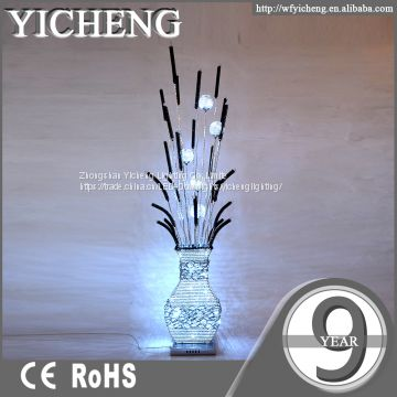 Wholesale vintage aluminium sculpture chandelier floor lamp