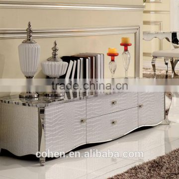 factory price luxury living room furniture tv wall unit/table/cabinets E103