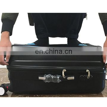 "Hard Case Luggage Made Of ABS Plastic With Size Of 20"",24"",28"" & 4 Wheels Spinners"