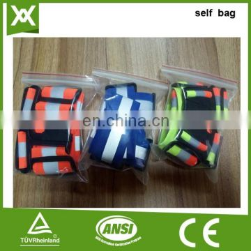 Factory made safety reflective with buckle warning visibility elastic belt