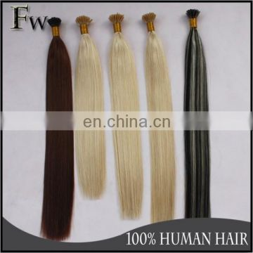 Top quality best selling great lengths hair extensions,i tip hair extensions
