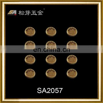 Bag parts & accessories decorative studs with logo