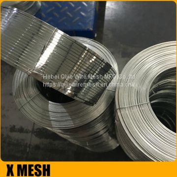 12x25 gauge Galvanized Stitching Flat Wire