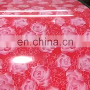 Color PPGI Zinc Coated Polyester Painted Steel Coil for Metal Roof