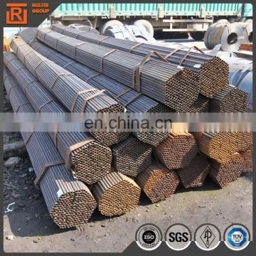 20mm to 60mm black annealed carbon steel pipe round furniture steel tube price per piece