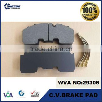 WVA 29268 29306 BPW ECO PLUS axles disk brake pad