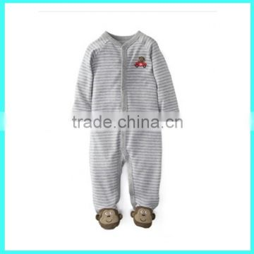 OEM kids coverall set baby winter wear cotton footed pajamas                                                                         Quality Choice