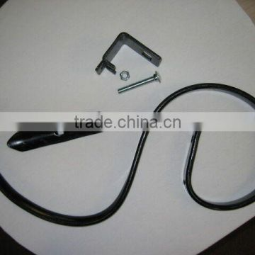 Factory price best selling S-Tine coil spring farm machinery part rotavator blade