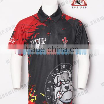 newest collection 29579 6604d custom dart shirts with pocket sublimation dart jersey ...