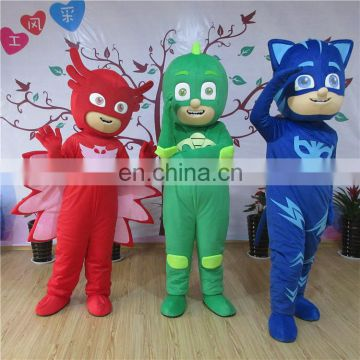 Adult sizes cartoon character Gekko mascot costume for sale