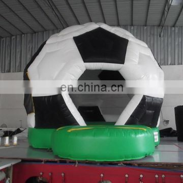 cheap commercial grade indoor Inflatable football bouncer for kids
