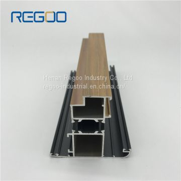 China Top Aluminium Profile Manufacturer for Window and Curtain Wall with Regoo Brand