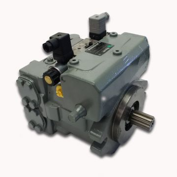 Aa10vo100dflr/31r-puc62k02 Rexroth Aa10vo Hydraulic Axial Piston Pump 63cc 112cc Displacement 20v
