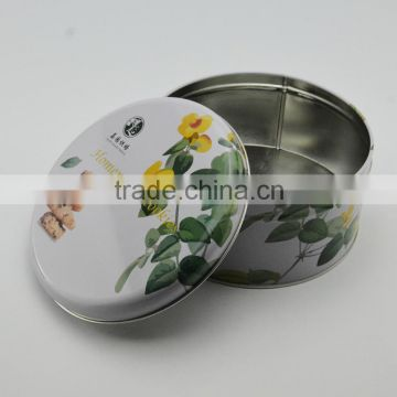 oem handmade cookie/peanut cookies/butter cookies tin can maker,round tin can,round tin jar