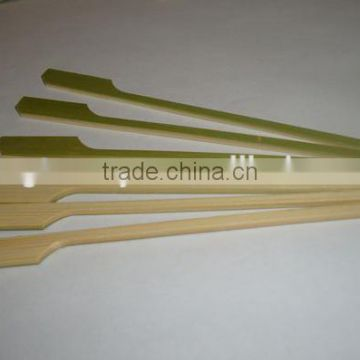 Bamboo white gun-shaped/pattern skewer/string/bunch/strand