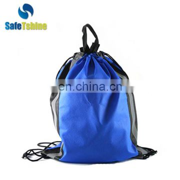 drawstring sports nylon drawstring bag custom