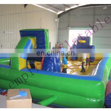 Empire inflatable bungee basketball court, inflatable basketball game NS020