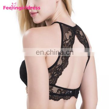 Hot Sexy Running Model Woman Bra Wholesale Stylish Net Very Sexy Push Up Bra