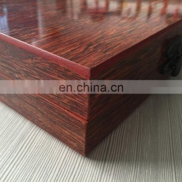 luxurious antique style wood packaging jewelry box