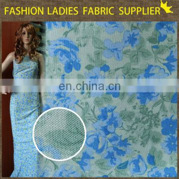 Soft spandex polyester rayon fabric,stretch polyester rayon blend fabric,100% printed rayon fabric