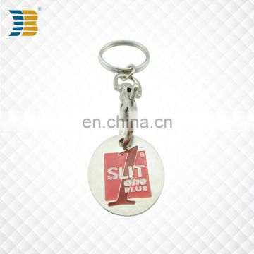 promotional cheap custom metal trolley coin