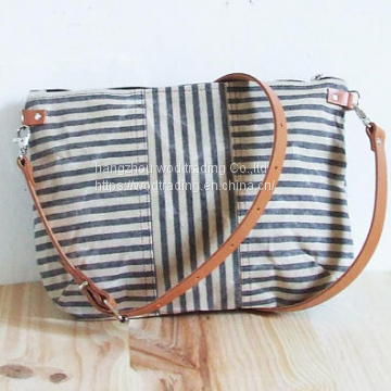 full printed crossbody purse canvas bag from China factory