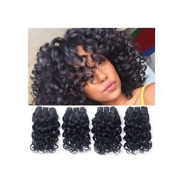 Natural Wave  Natural Straight For White Women 12 -20 Inch Brazilian Curly Human Hair 24 Inch
