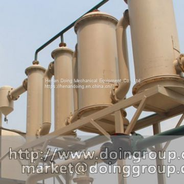 New type waste engine oil recycling to diesel machine