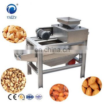 Chinese supplier peanut kernel crusher pistachio nut chopper hazelnut cutting machine