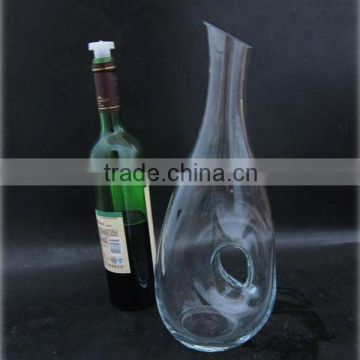 Antique wine decanter,single glass decanter