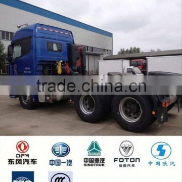 China foton truck semi tractor 6*4, manual transmission tractor truck