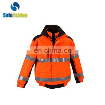 Road safety hi vis reflective Jacket Wholesale
