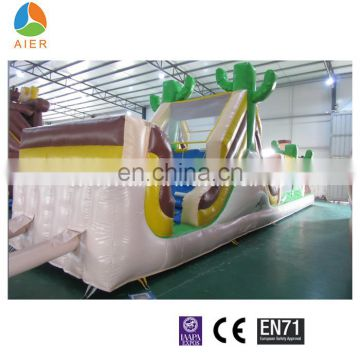 commericial giant AND CHEAP inflatable little boy obstacle course for sale for adult
