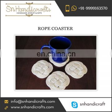 Newly Arrived Rope Coaster of Distinguished Design at Affordable Rate by Quality Supplier