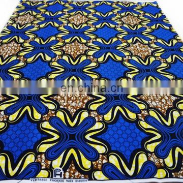 super african clothing super wax fabric 100% cotton print fabric