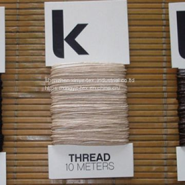 linen waxed threads