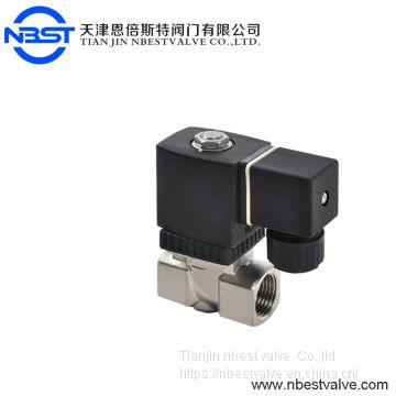 N2231015 DN20 Pilot operated brass high pressure 16bar stainless steel solenoid valve 380v AC 110v DC