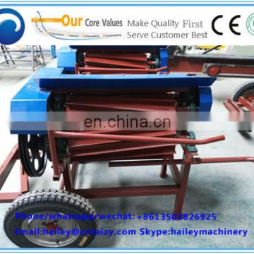 kenaf peeling machine jute decorticating fiber machine Fresh hemp fiber extractor