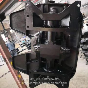 Semi trailer parts traction double fifth wheel assembly