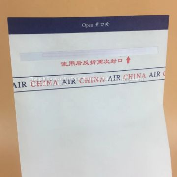 China can customize airsickness bags, vomiting bags, cleaning bags big discount