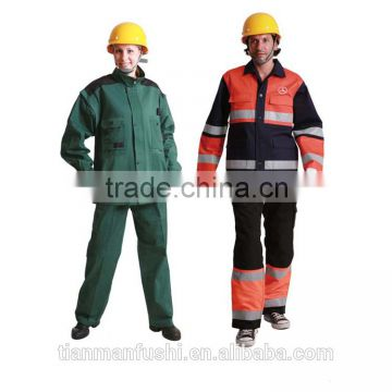 2015 Quality Reflective Workwear Suit Customed Cheap Work Clothings Wholesale Working Clothes Plus Size Uniforms