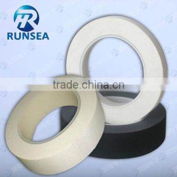 Non flammable plastic pipe insulation tape acetate cloth