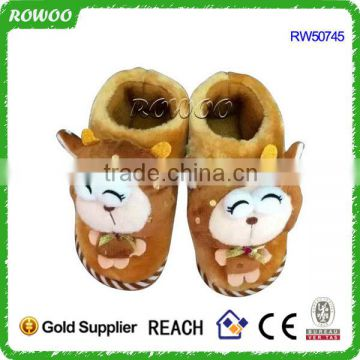 lovely custom fanny kids Latest girls winter slippers shoes